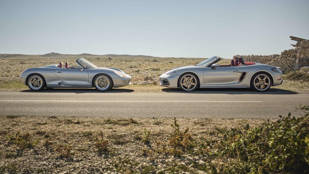 Porsche Boxster 25 Jahre Studie