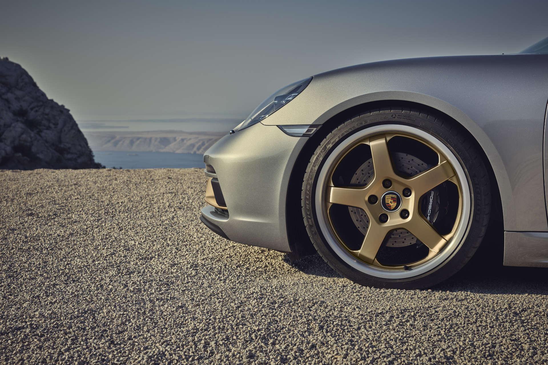 Porsche Boxster Jubiläumsmodell Felgen