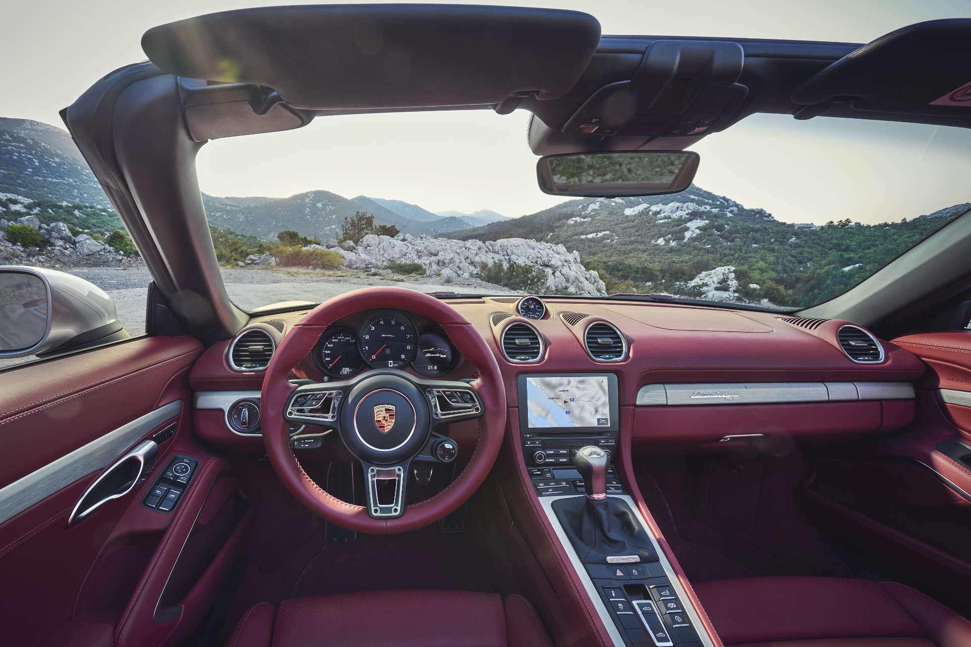 Porsche Boxster Jubiläumsmodell Cockpit