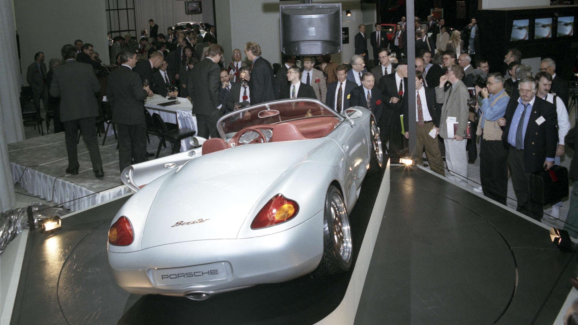 Porsche Boxster Studie Detroit Motor Show