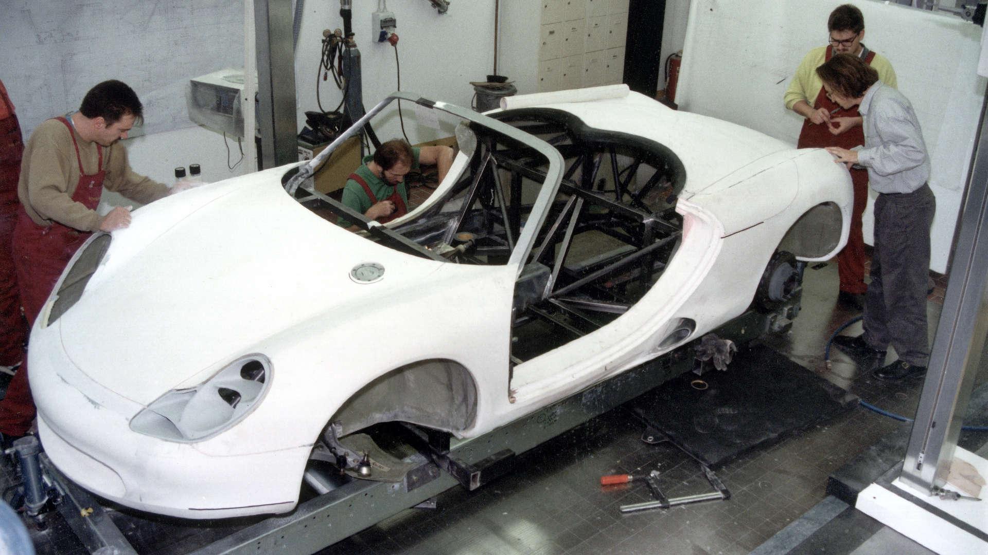 Porsche Boxster Studie
