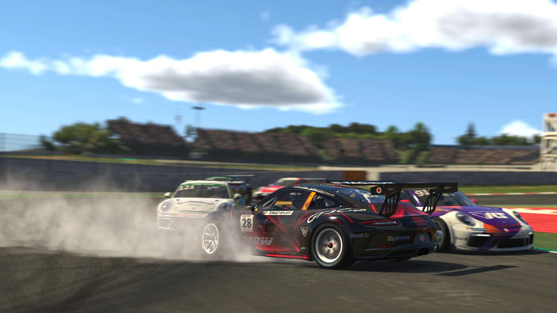 Porsche TAG Heuer Esports Supercup Barcelona