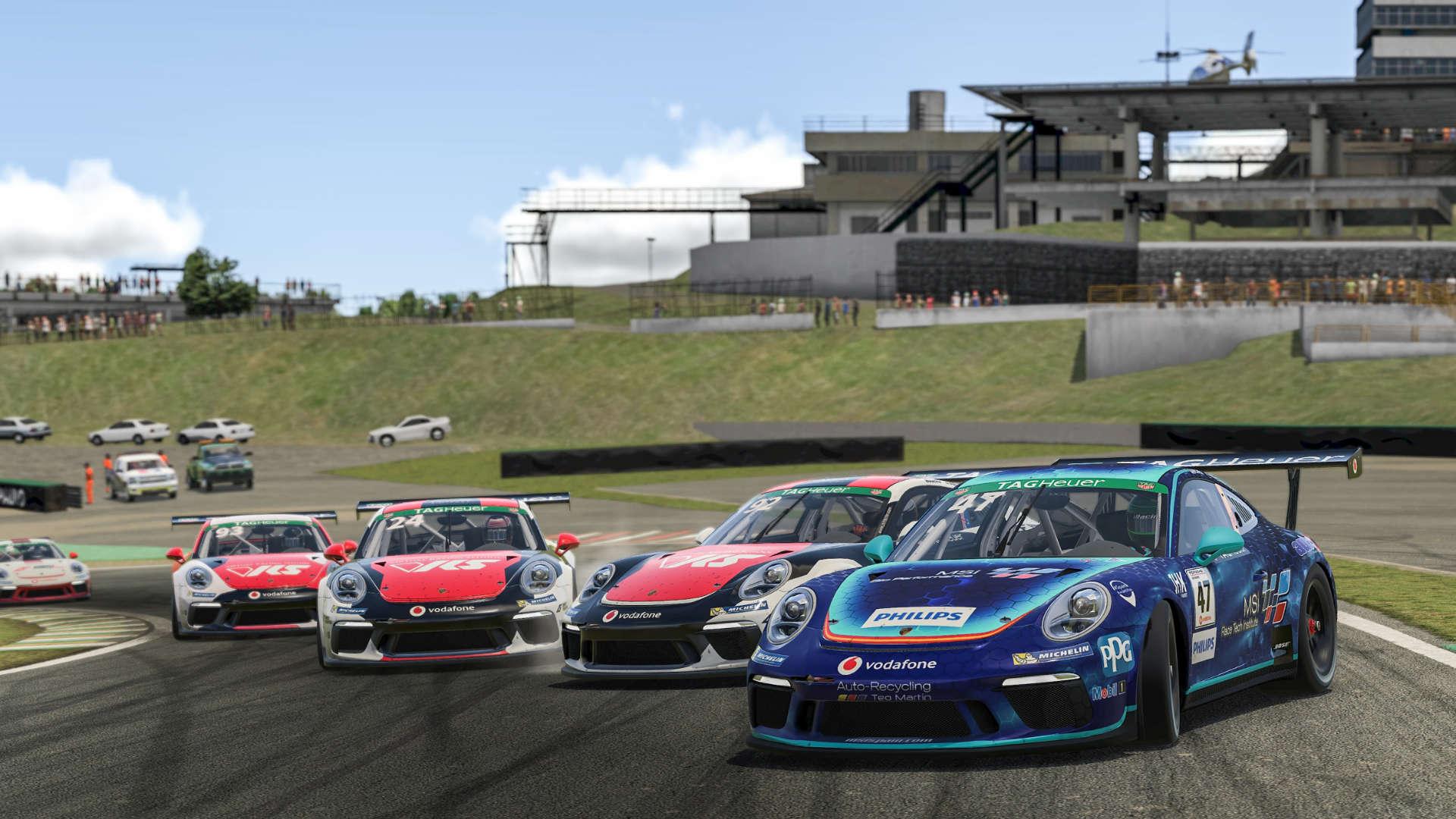 Porsche TAG Heuer Esports Supercup Brasilien
