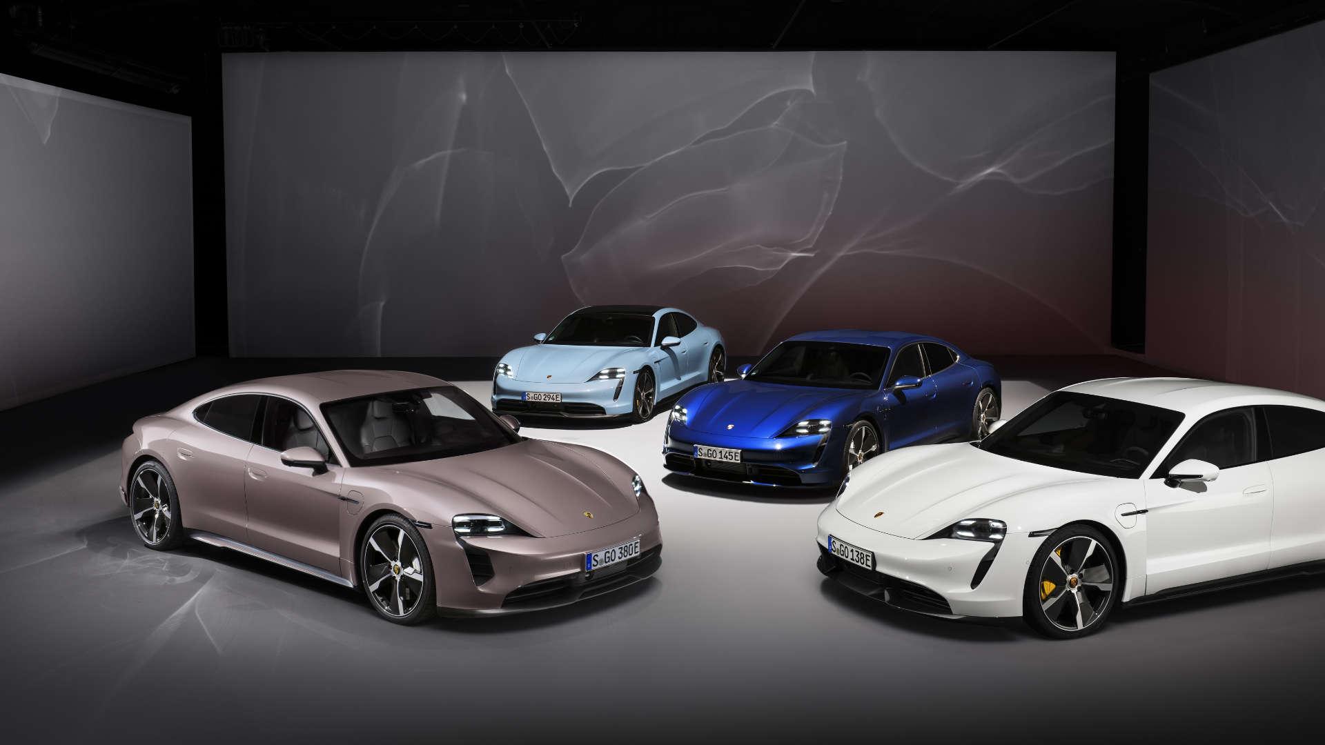 Porsche Taycan Modellfamilie