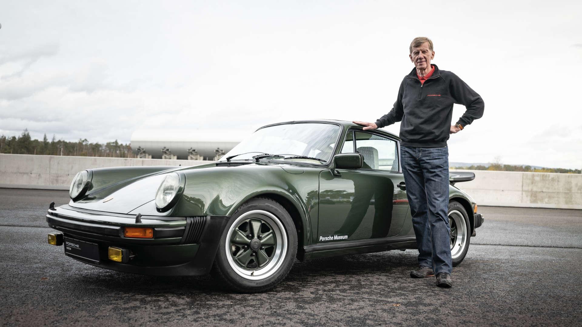 Walter Röhrl Porsche 911 Turbo 930
