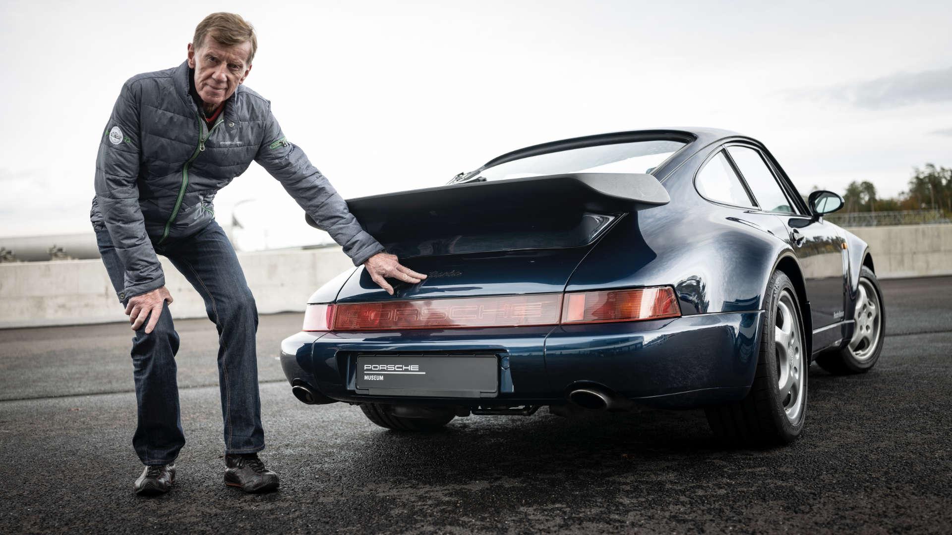 Walter Röhrl Porsche 911 Turbo 964