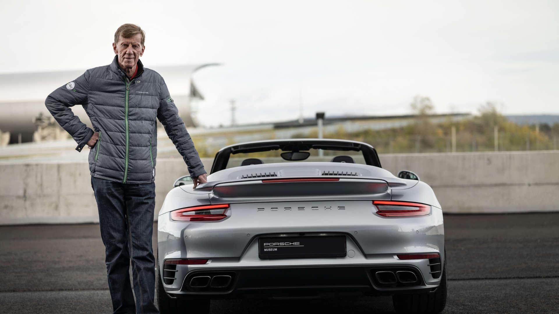 Walter Röhrl Porsche 911 Turbo 991