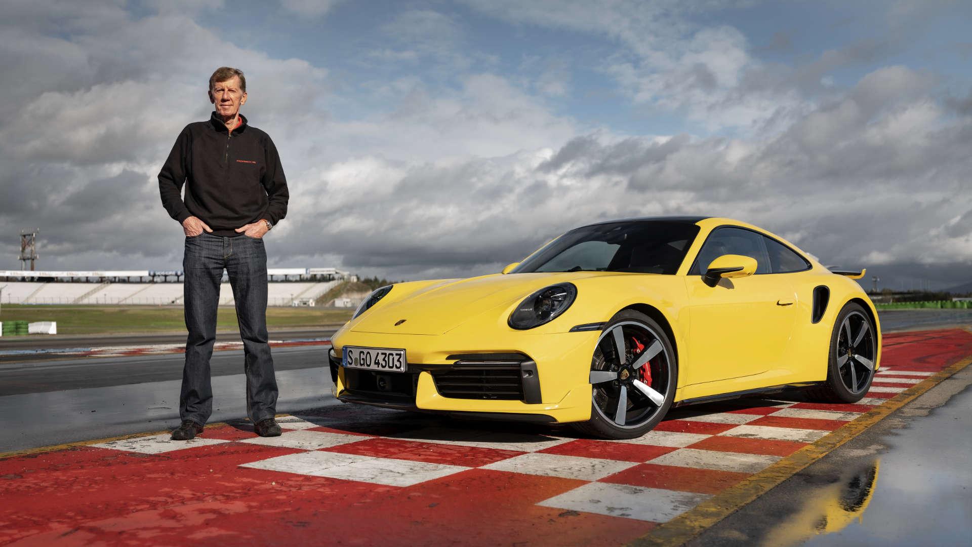 Walter Röhrl Porsche 911 Turbo 992