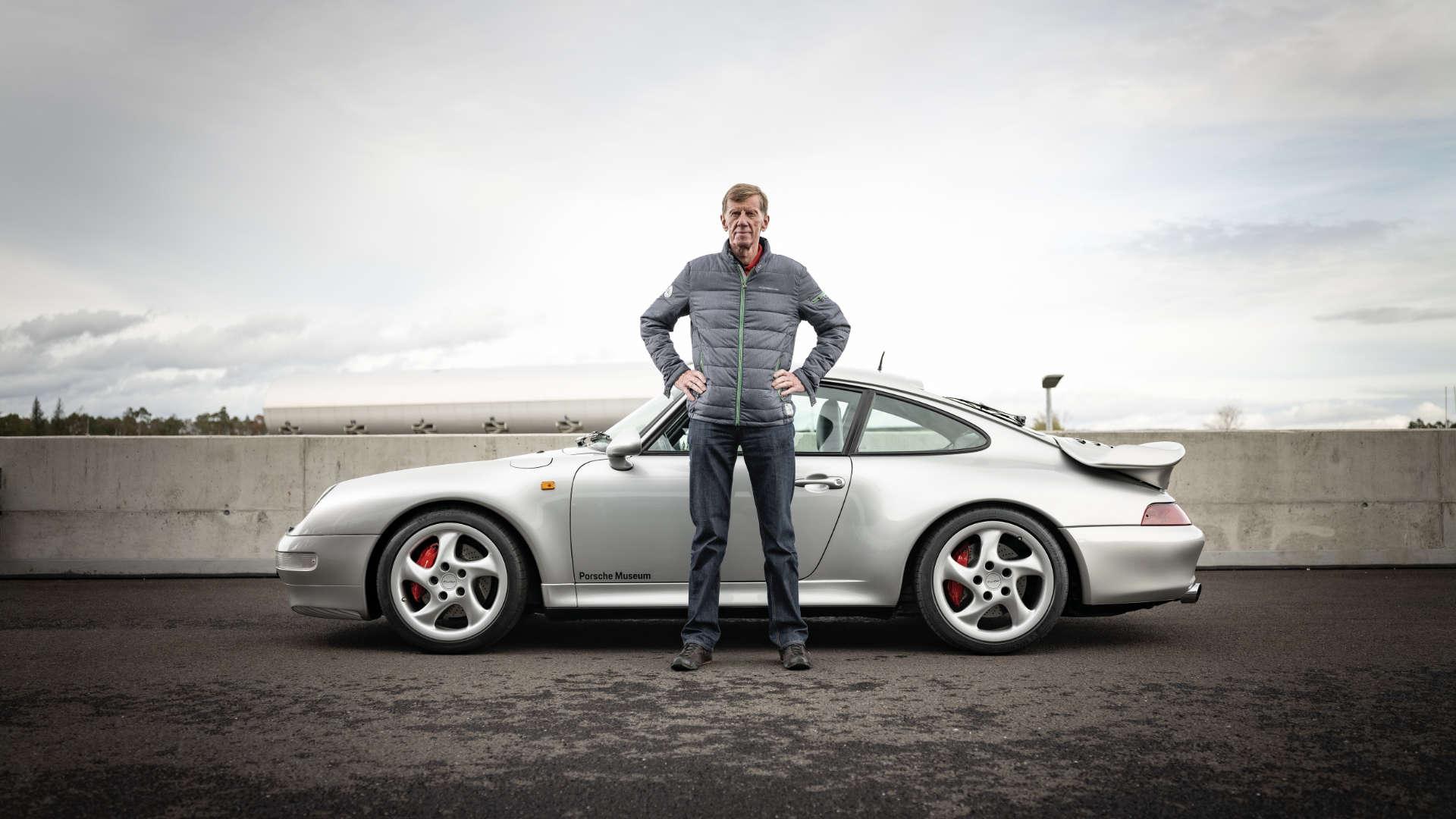 Walter Röhrl Porsche 911 Turbo 993