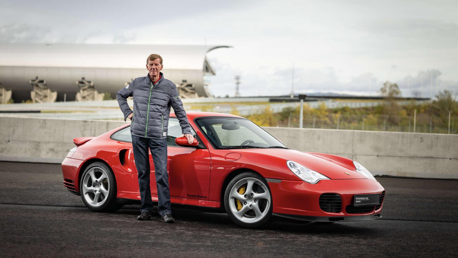Walter Röhrl Porsche 911 Turbo 996