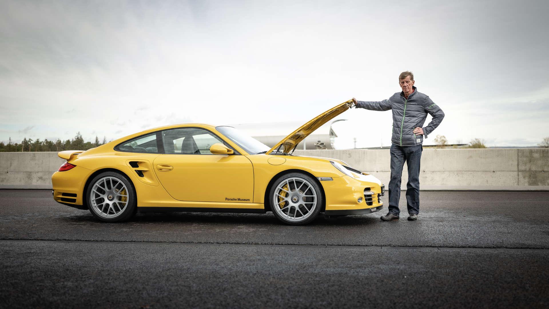 Walter Röhrl Porsche 911 Turbo 997