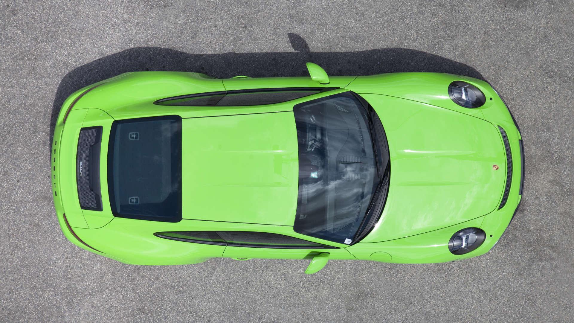 Porsche 911 R 991 Draufsicht