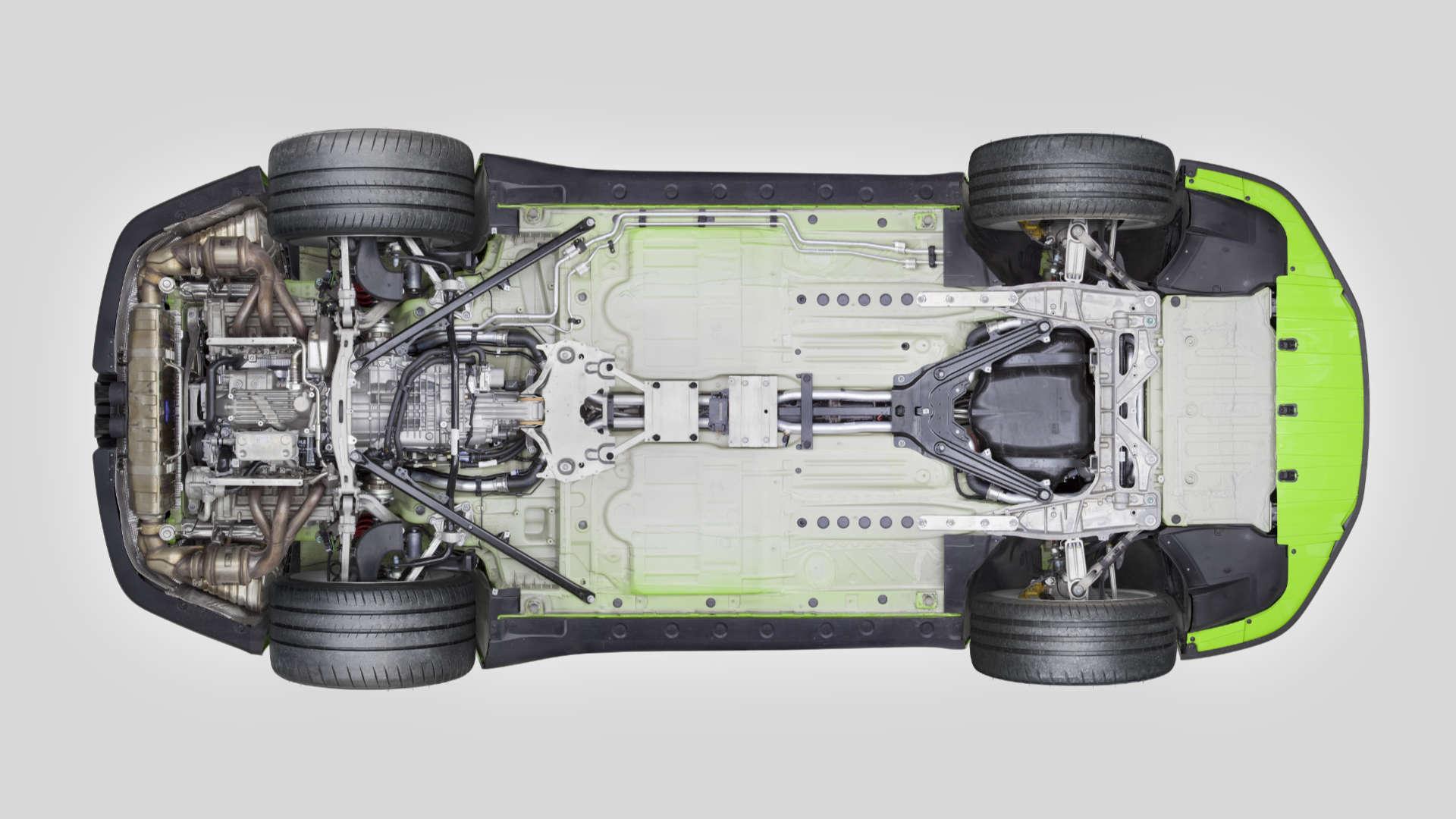 Porsche 911 R 991 Unterboden
