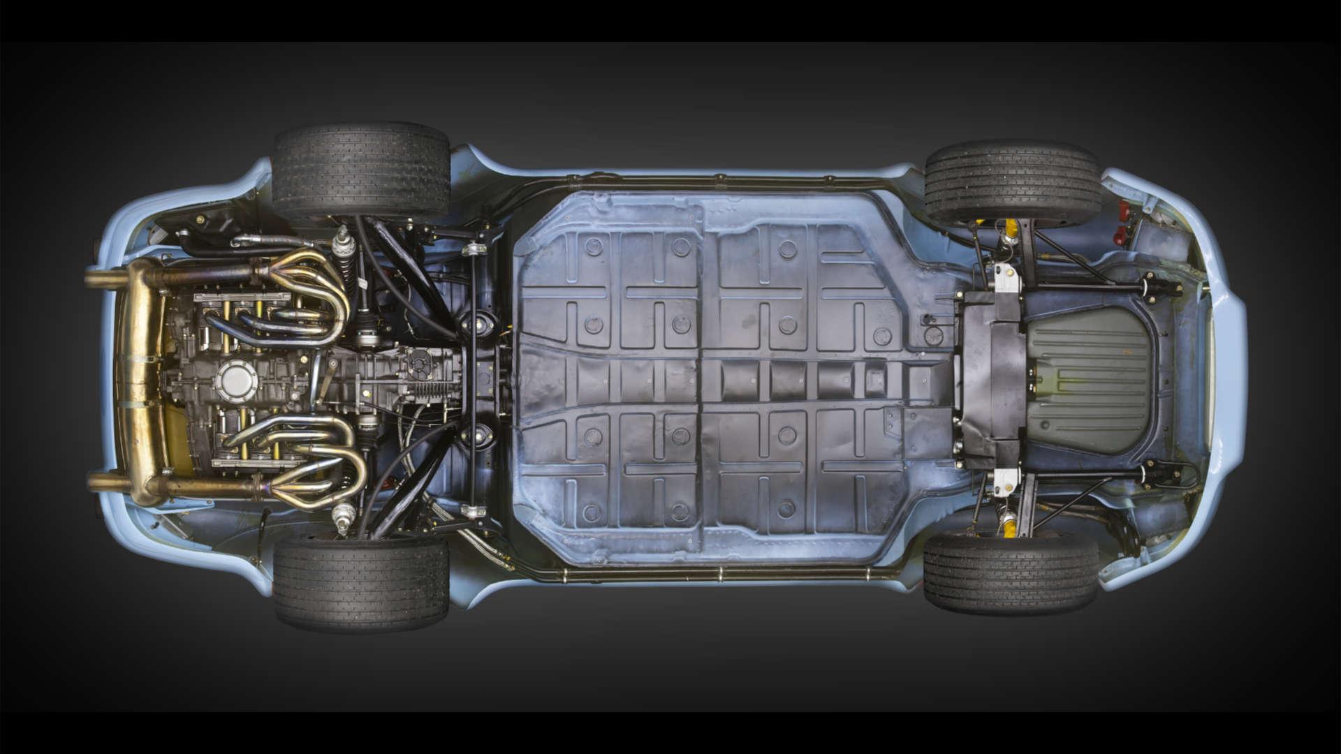 Porsche 911 RSR Unterboden
