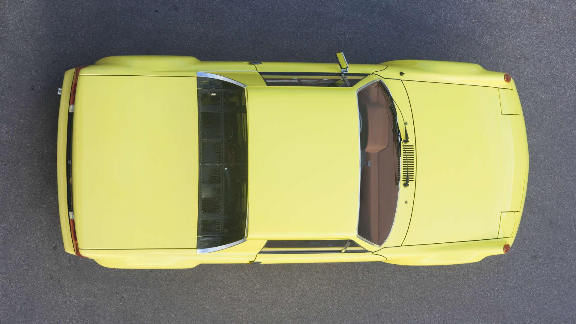 Porsche 916 Draufsicht