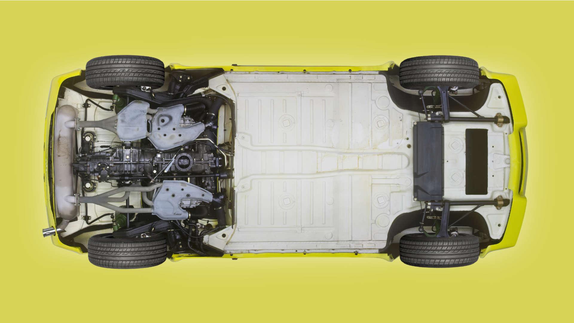 Porsche 916 Unterboden