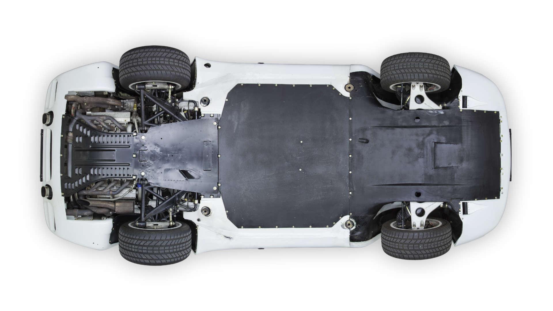Porsche 959 Unterboden