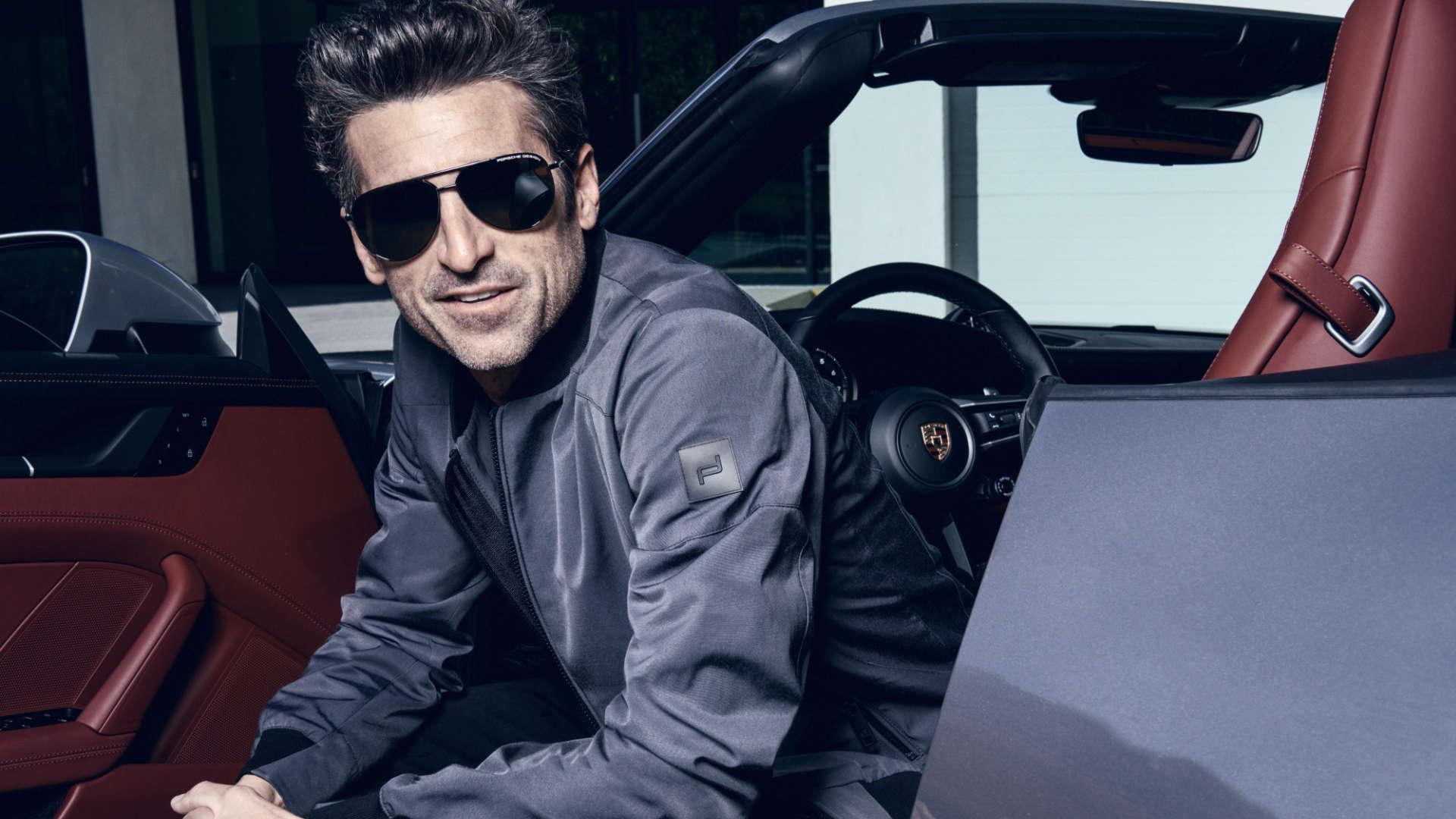 Patrick Dempsey ist neuer Markenbotschafter für Porsche Design Eyewear