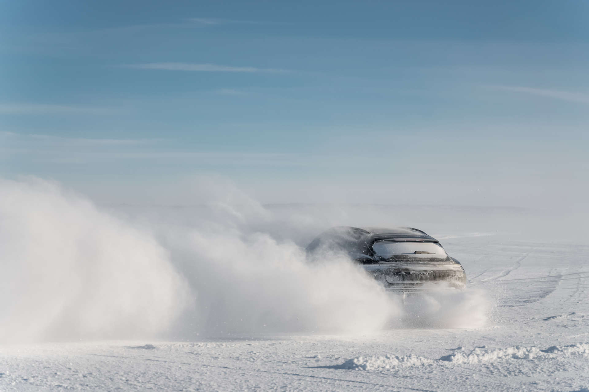 Porsche Taycan Cross Turismo Testfahrt Norwegen