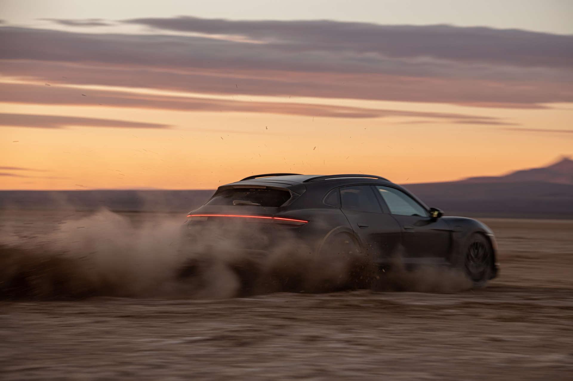 Porsche Taycan Cross Turismo Testfahrt USA