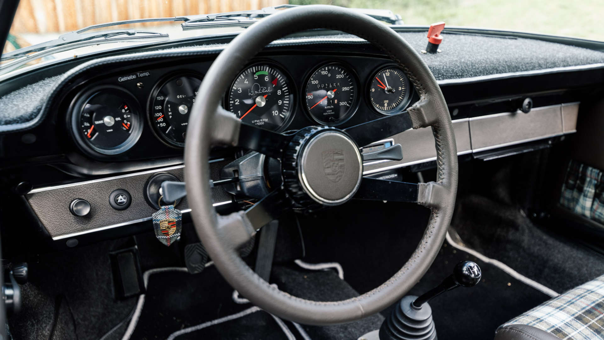 Walter Röhrl 911 ST Innenraum