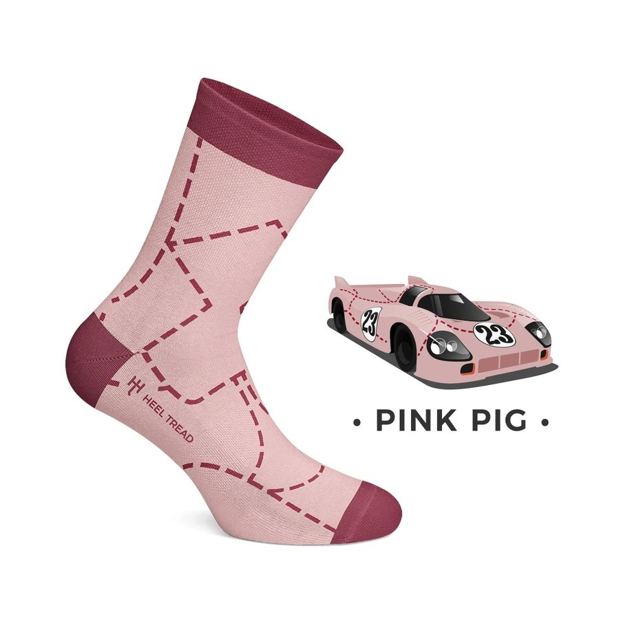 Porsche 917 Socken Pink Pig
