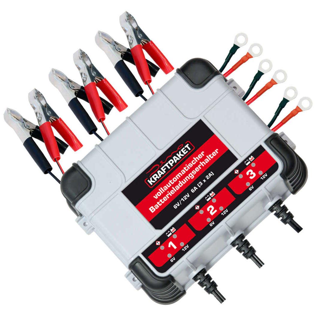 Batterieerhaltungsgerät Dino Kraftpaket