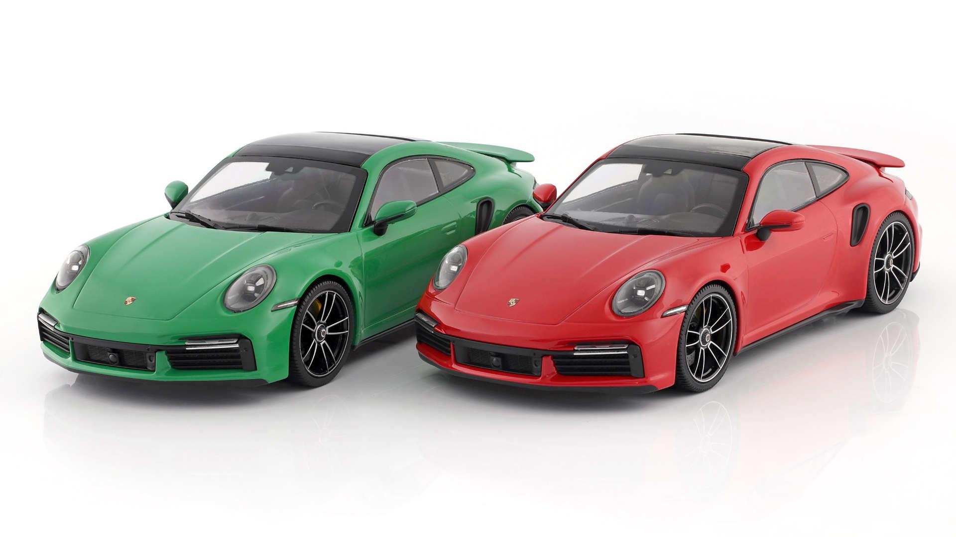 Minichamps Porsche 911 992 turbo