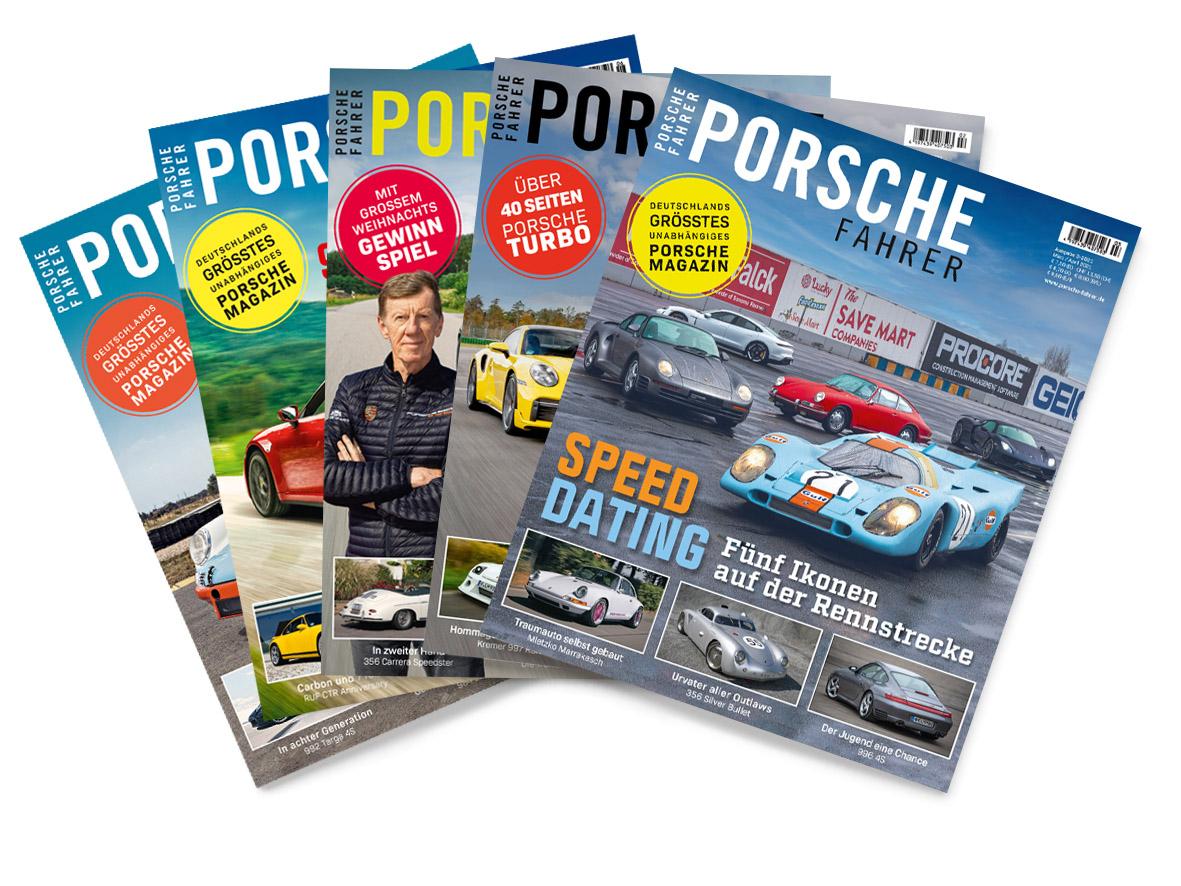 PORSCHE FAHRER Zeitschriften