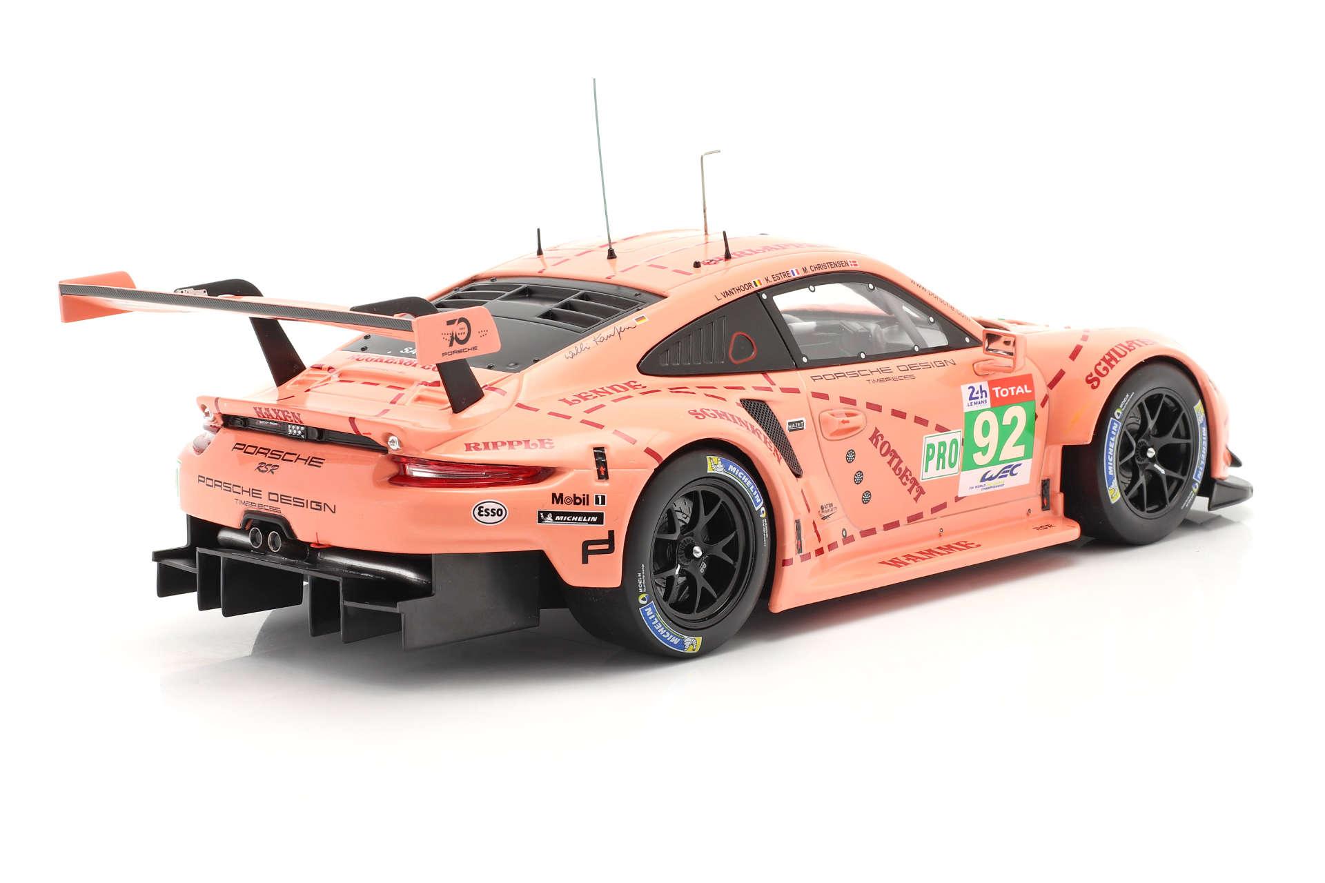 Modellauto Porsche 911 RSR Pink Pig