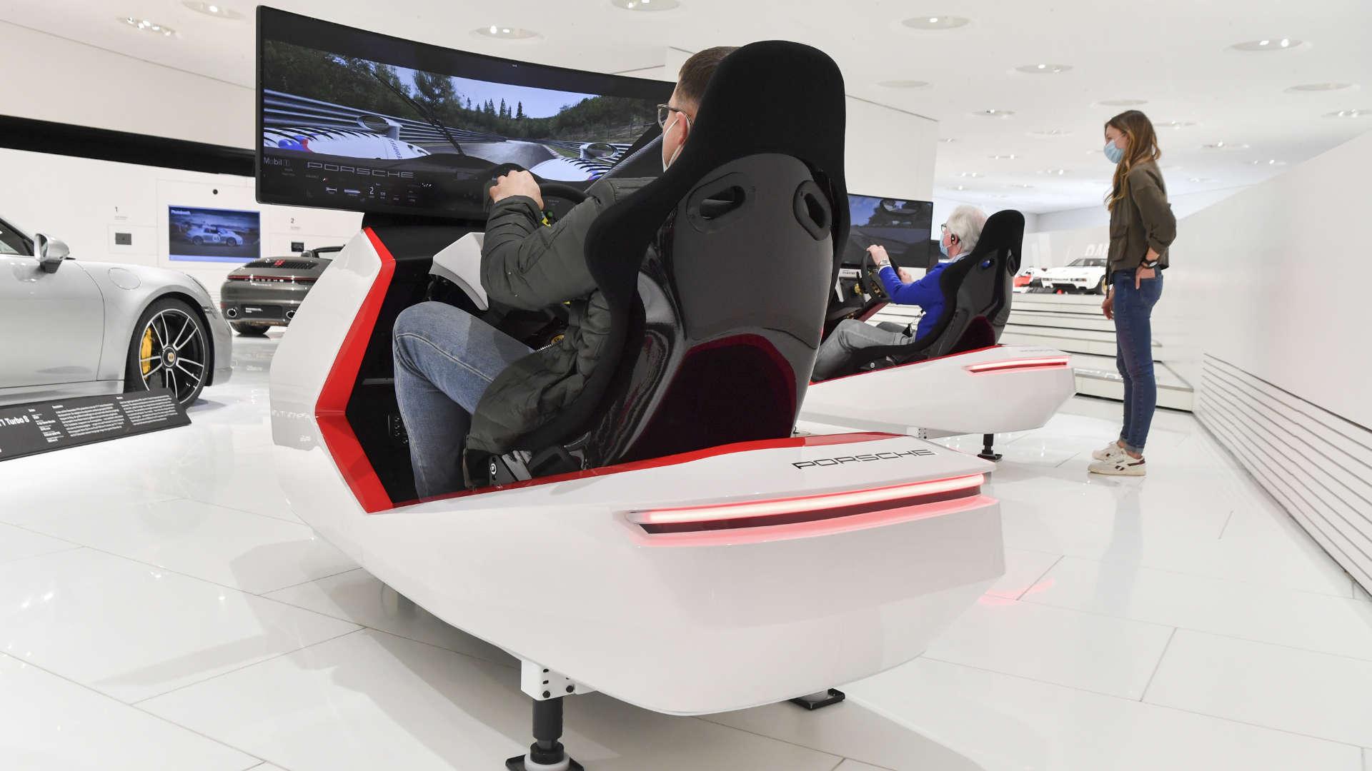 Porsche Museum Racing Simulatoren