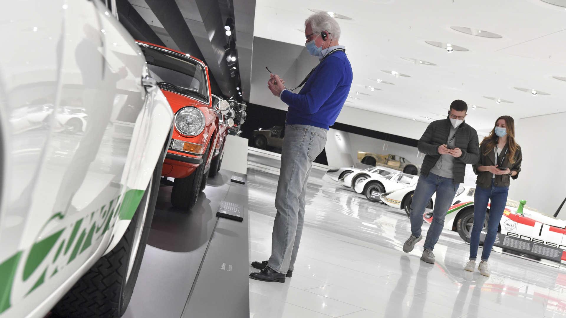 Porsche Museum öffnet wieder