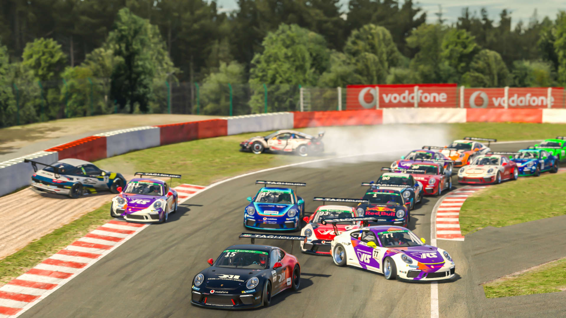 Porsche TAG Heuer Esports Supercup 2021 Spa