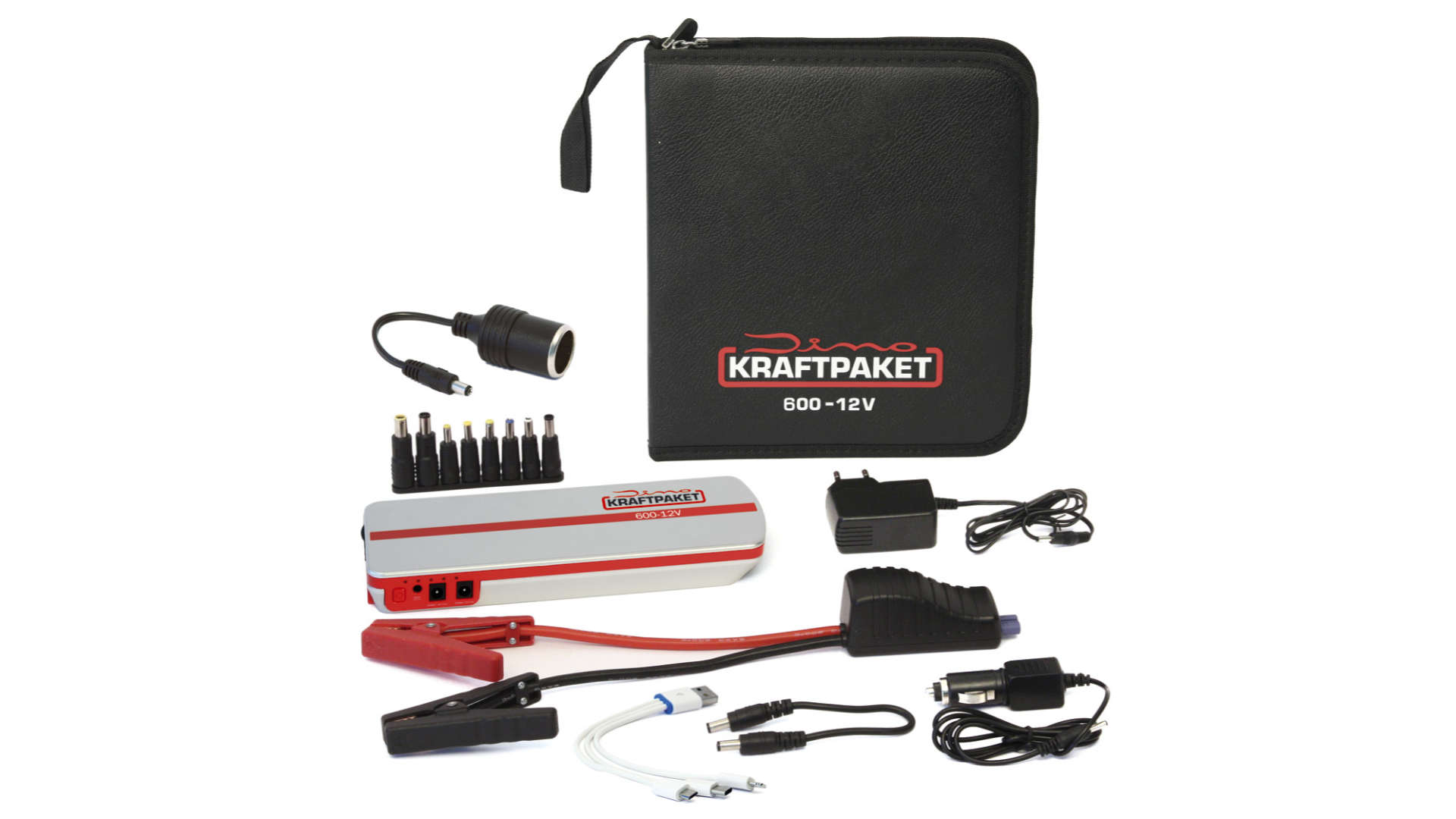 Starthilfegerät mit Powerbank Dino Kraftpaket