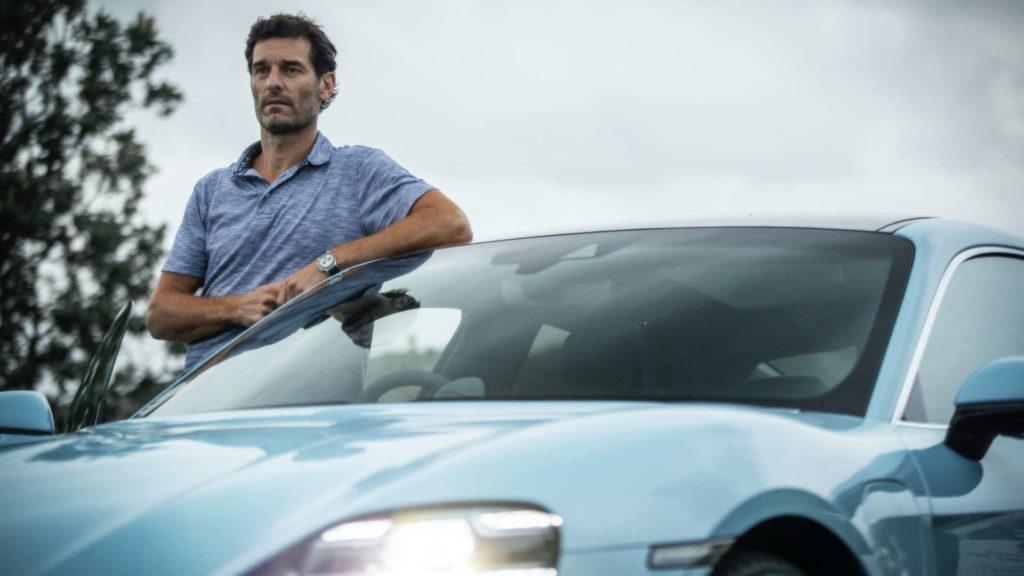 Auf Ausfahrt mit Mark Webber
