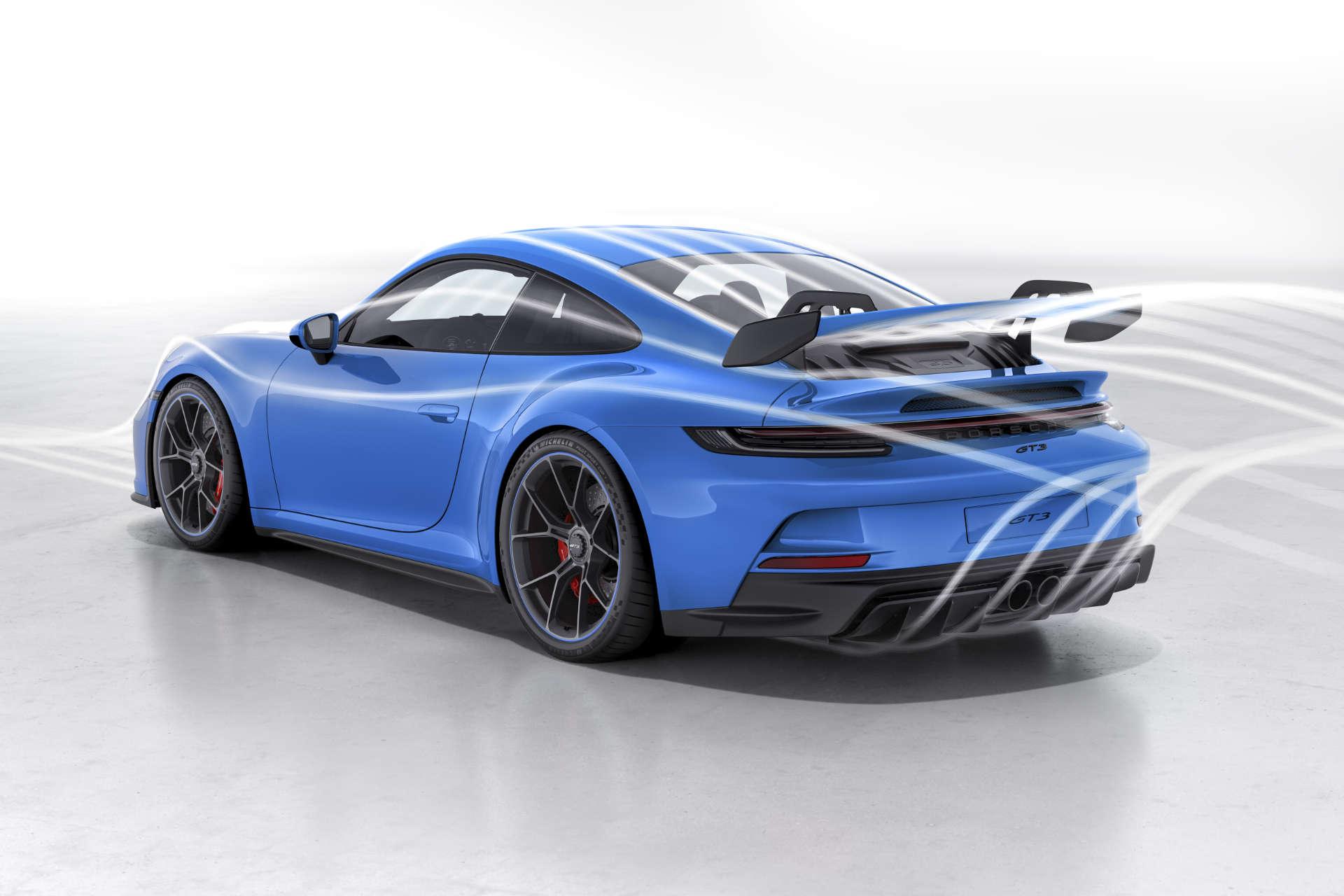 Porsche 911 GT3 Windkanal