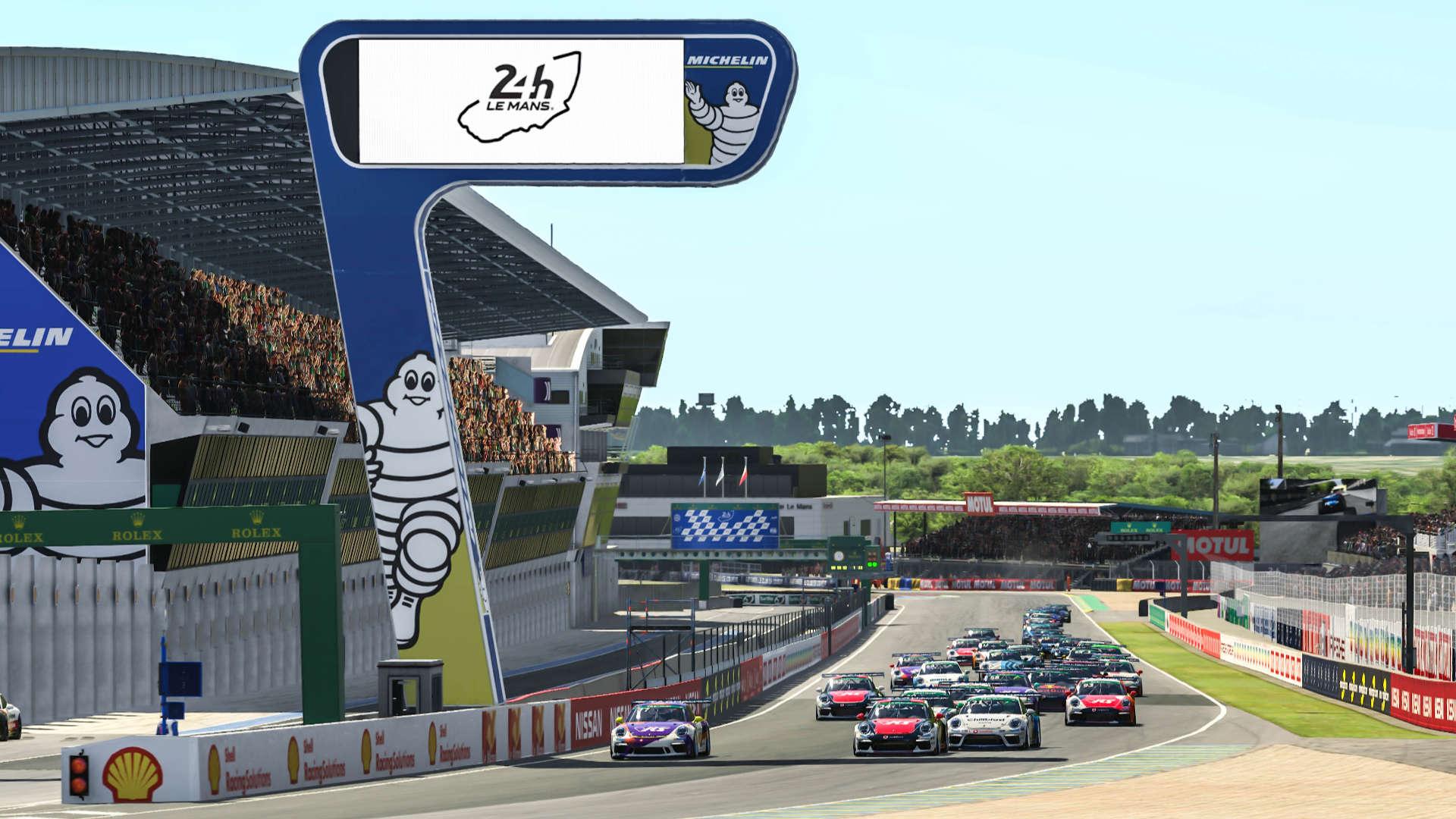 Porsche TAG Heuer Esports Supercup Le Mans