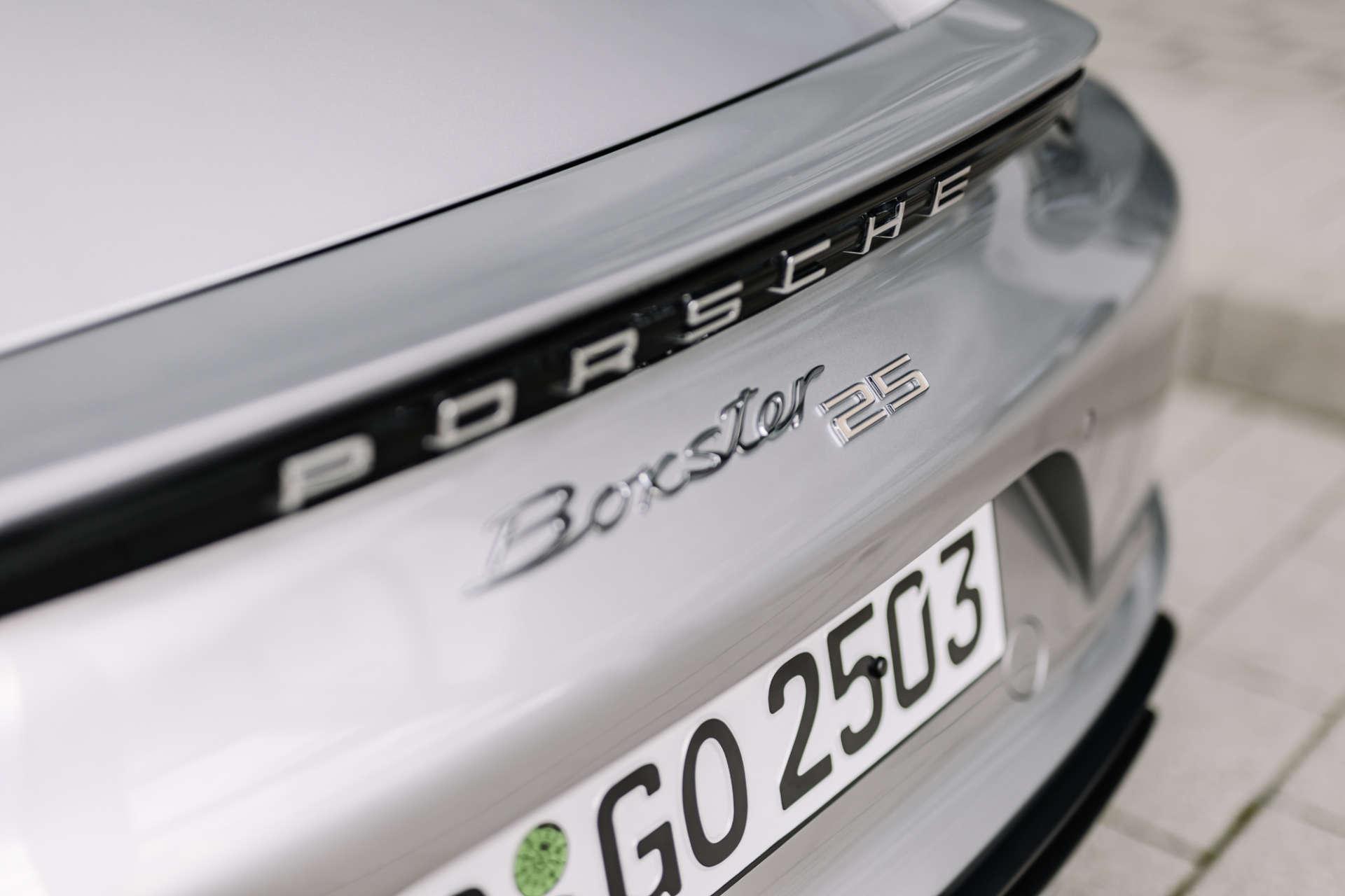 Porsche Boxster 25 Jahre Heck