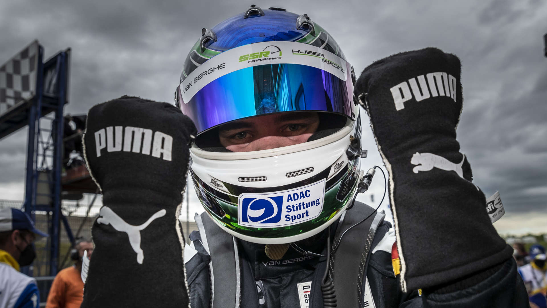 Laurin Heinrich Porsche Carrera Cup Oschersleben 2021