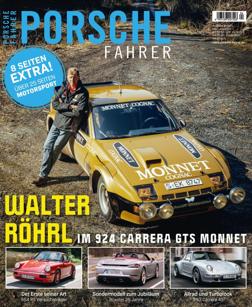PORSCHE FAHRER Magazin Ausgabe 4-2021