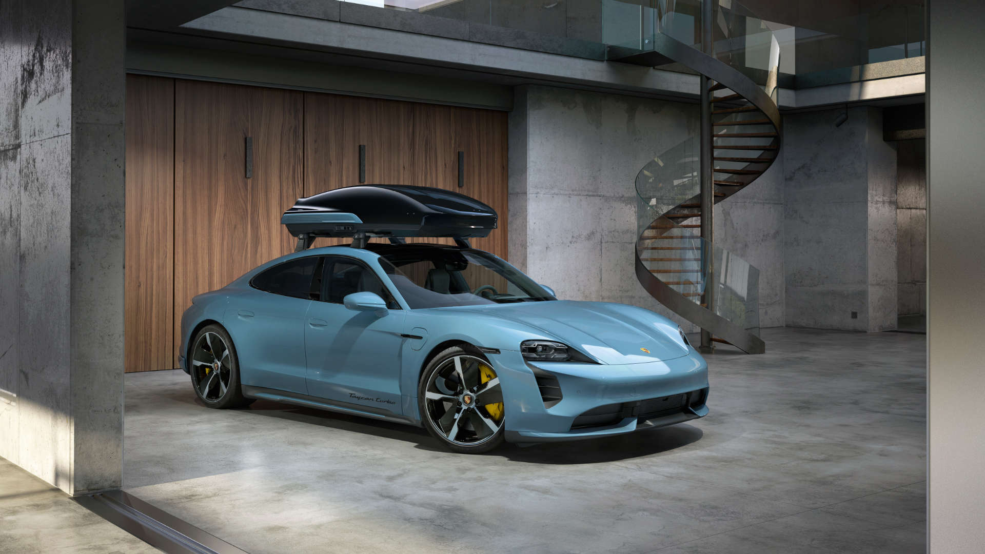 Porsche Dachbox Taycan