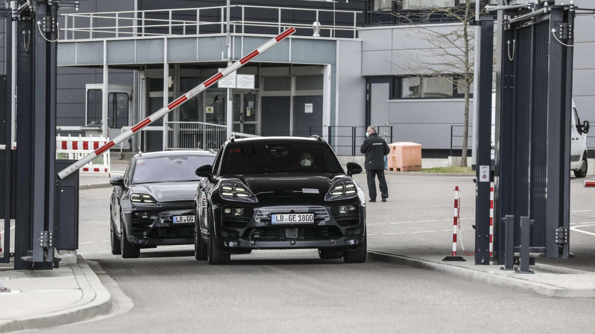 Porsche Macan Erlkönig elektrisch