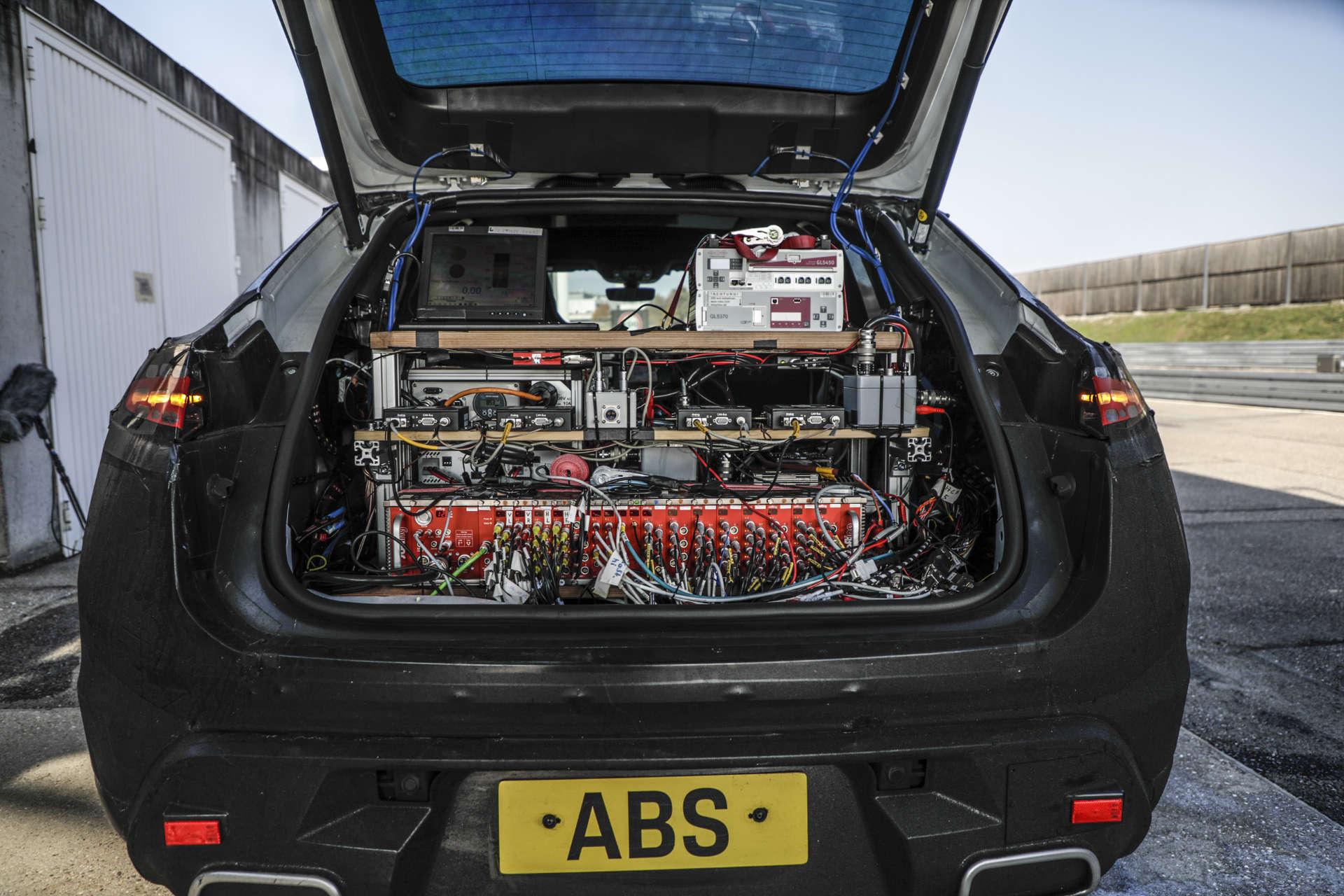 Porsche Macan elektrisch Batterie