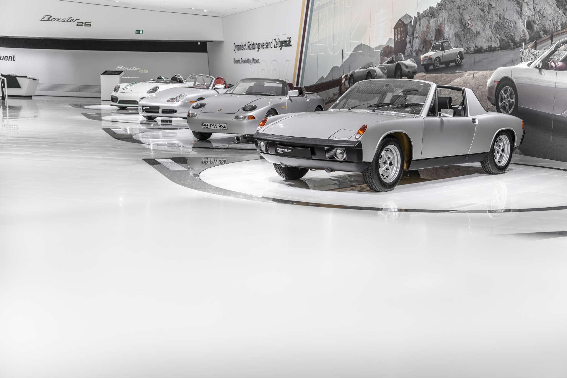 Porsche Museum 25 Jahre Boxster 1