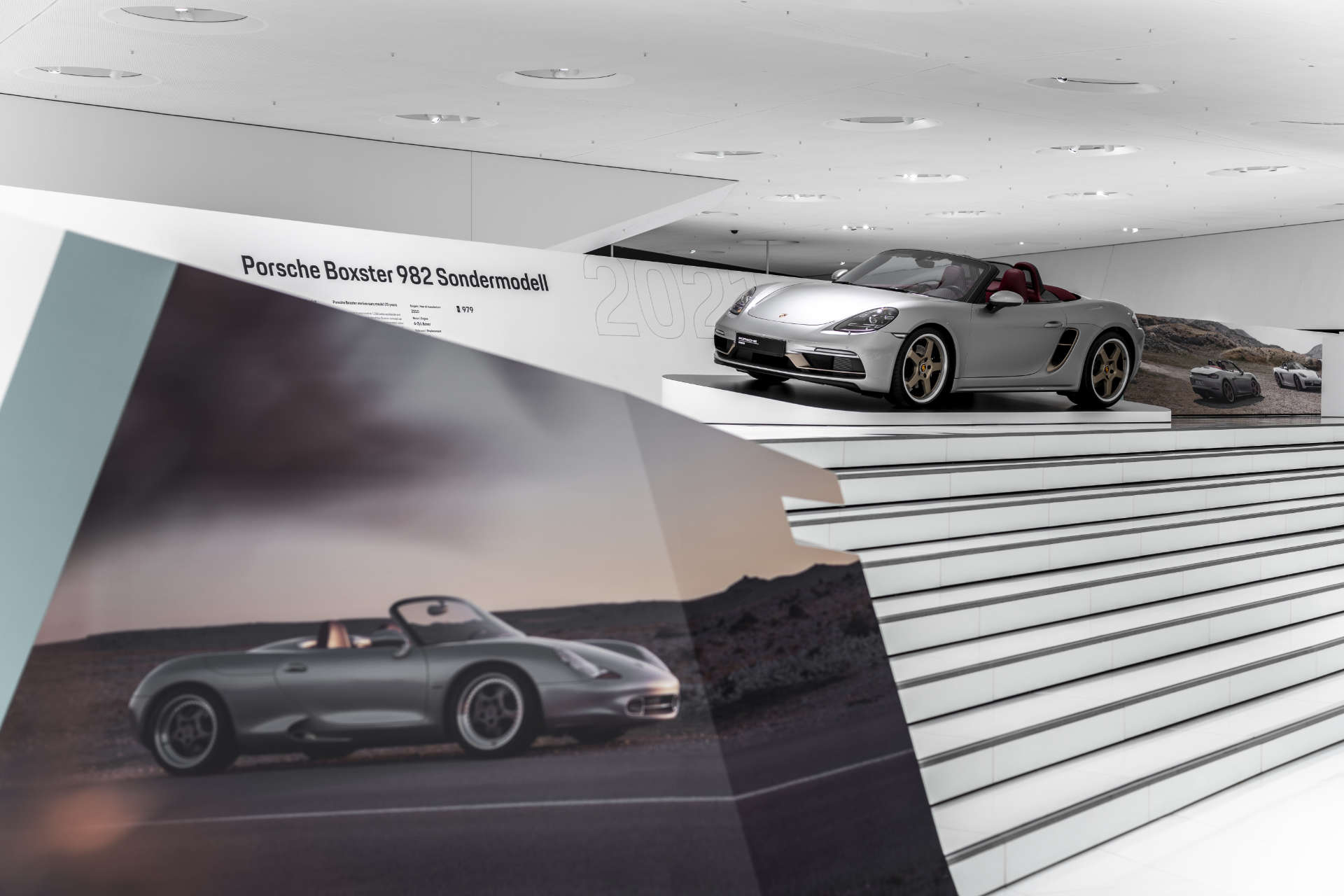 Porsche Museum 25 Jahre Boxster 982 Sondermodell