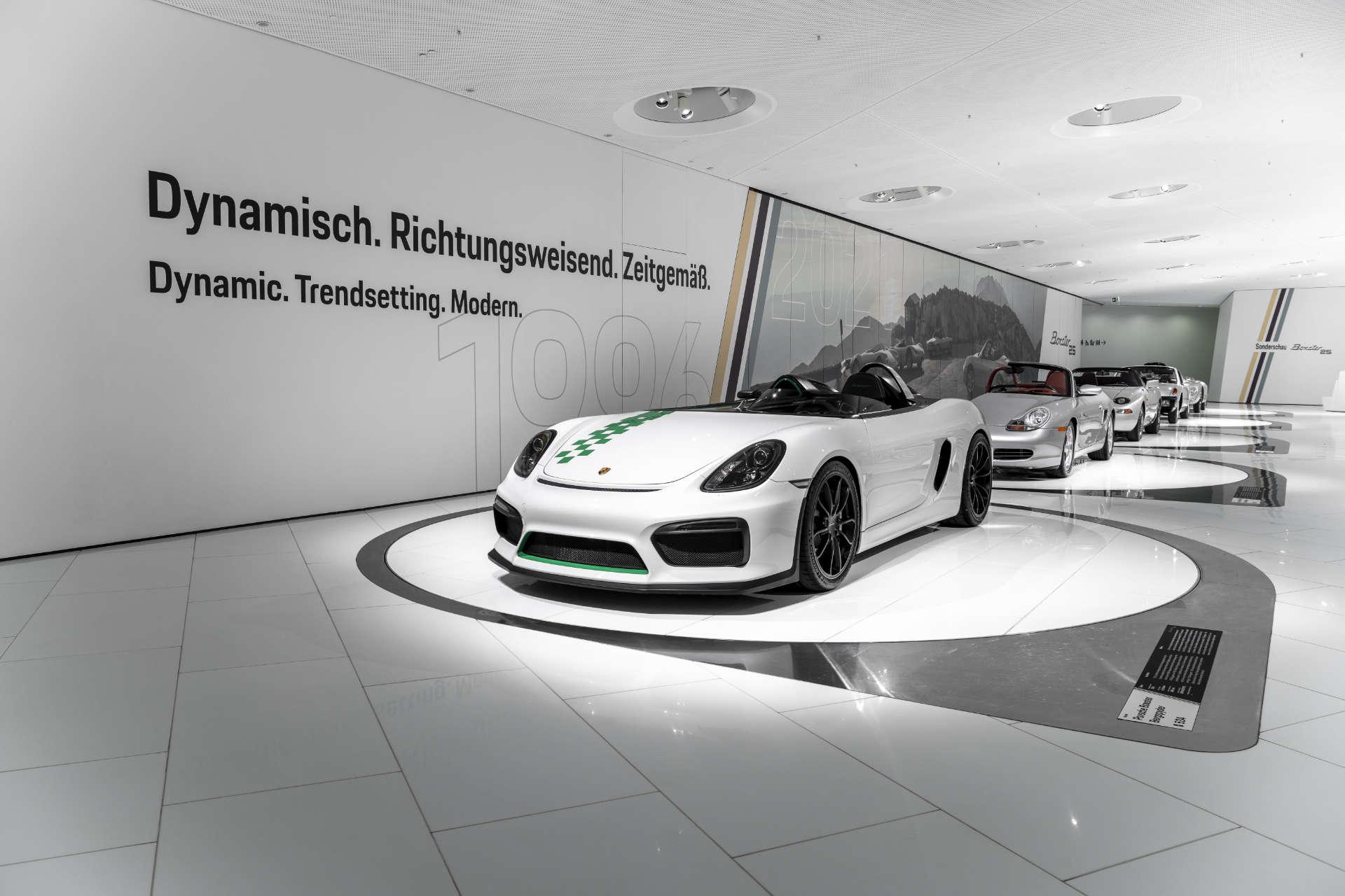 Porsche Museum 25 Jahre Boxster Bergspdyer