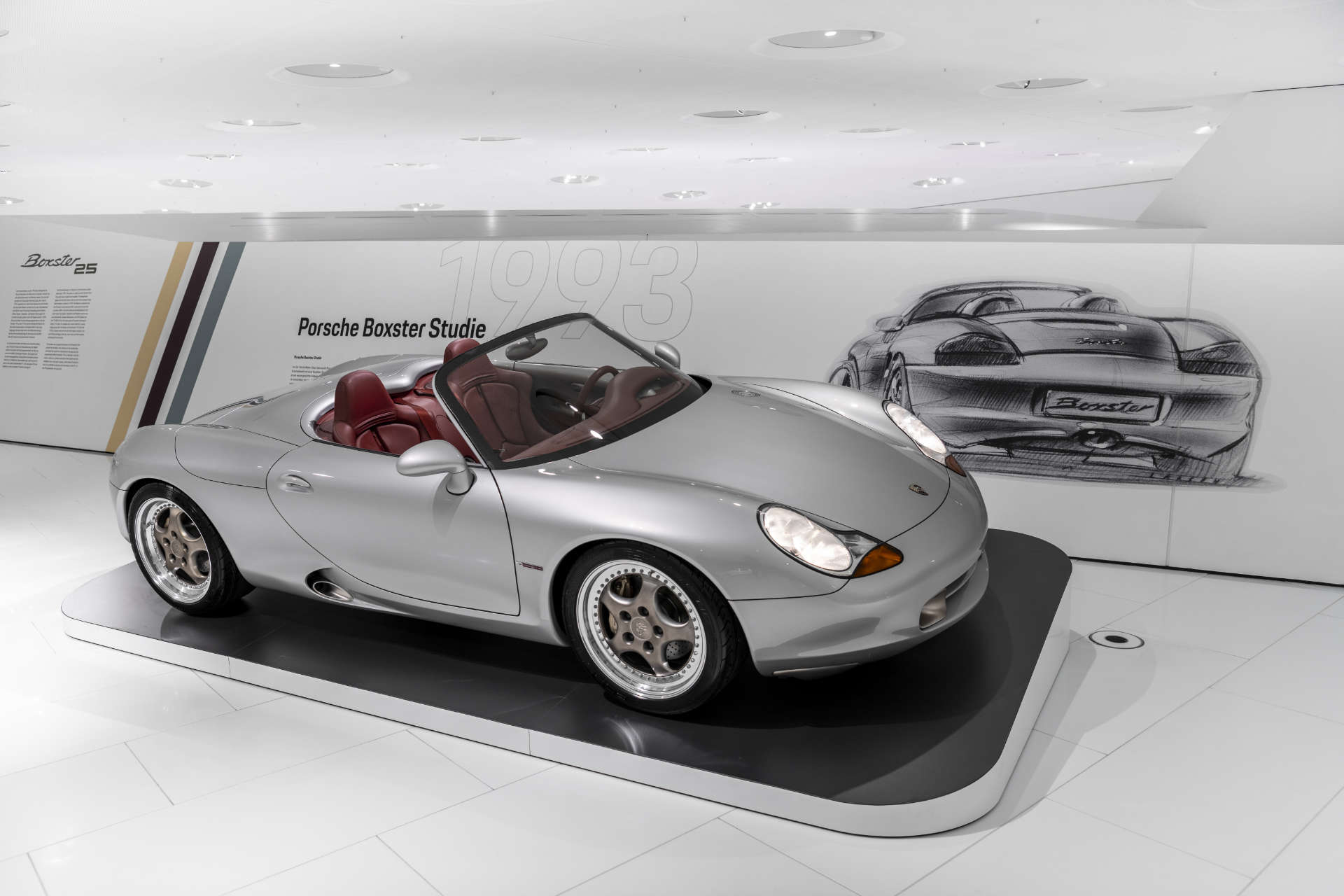 Porsche Museum 25 Jahre Boxster Studie