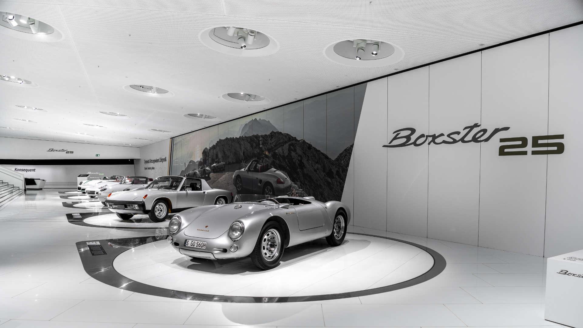 Porsche Museum 25 Jahre Boxster