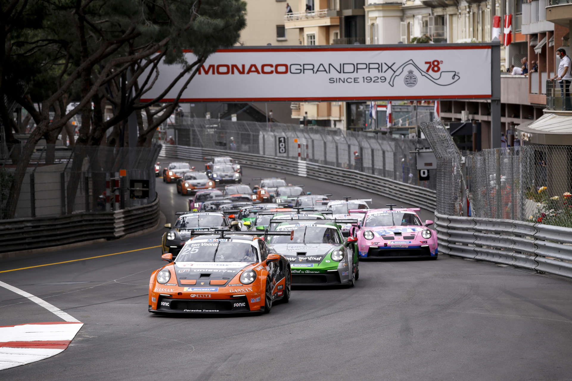 Monaco Porsche Mobil 1 Supercup 2021