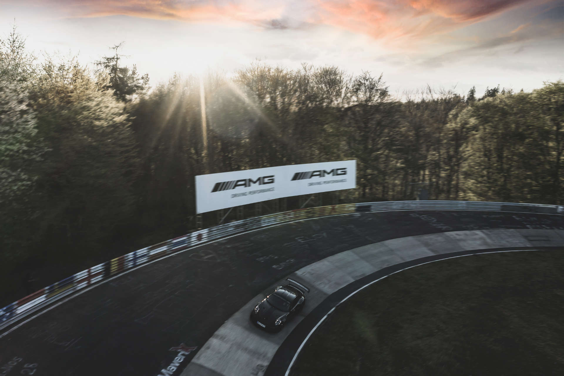 911 GT2 RS Rekordfahrt Nürburgring Sonne